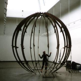 Solve et Coagula - installation view during the EON exhibit at Kunstnernes Hus, Oslo, 1997