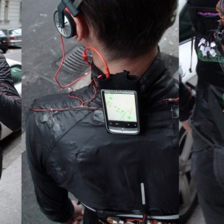Computer-controlled bodysuit for the user