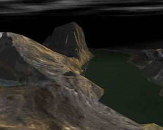 3D models of Besseggen in Jotunheimen, Norway, where the story took place.